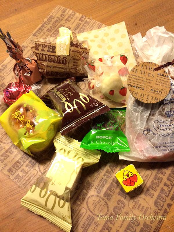 バレンタインのチョコやお菓子!